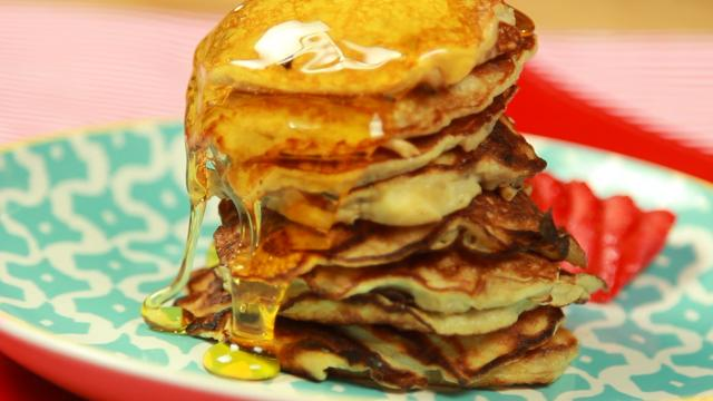 3 recetas simples de panqueques para darle vida a su desayuno