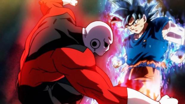 'DBS':Jiren toma la pelea como iguales contra Goku