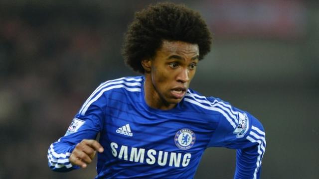 ¡Willian el grande! La estrella del Chelsea brilló contra el Barcelona