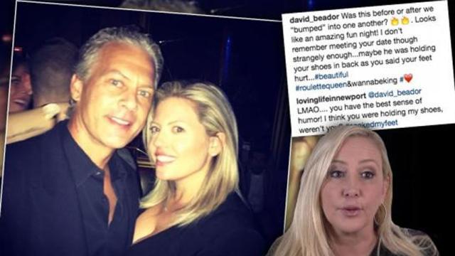David Beador aplaude la ética del entrenamiento de su nueva novia