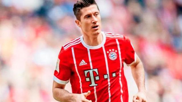 Lewandowski planea salir del Bayern Munich y apunta a lo grande