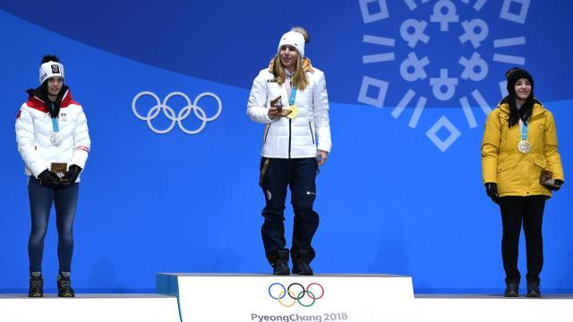 Ester Ledecka se sella como reina de las nieves de los Juegos Olímpicos