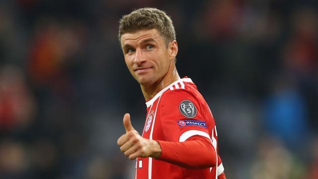 Muller inspiró al Bayern Munich en la victoria por 5-0 sobre Besiktas el martes