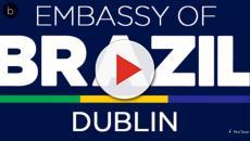 Assista: Embaixada do Brasil em Dublin tem vaga com salário superior a R$ 8.700