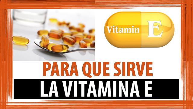 La vitamina E y sus ventajas para la salud