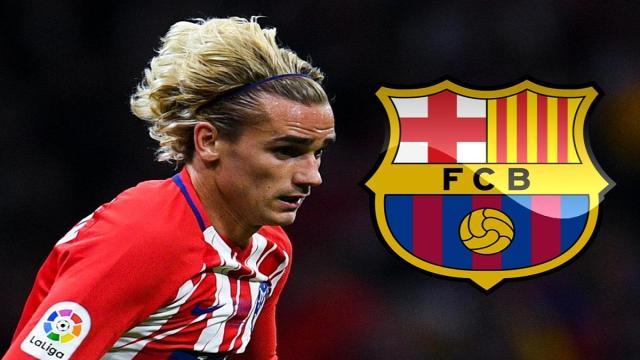 Futbol: Si llega Griezmann al Barcelona, se van 5 jugadores