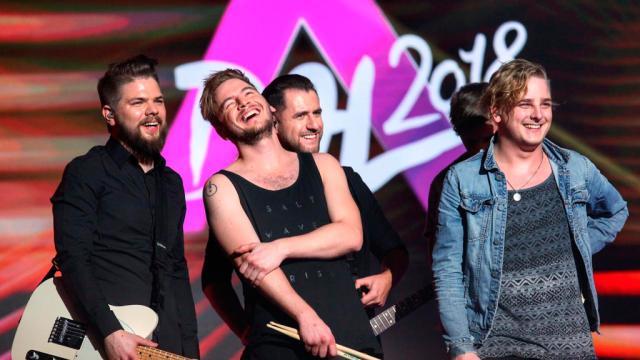 Eurovisión: el rock duro llegará a Lisboa de la mano de Hungría