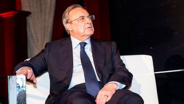 Futbol: Florentino Pérez le envía un mensaje a Hazard