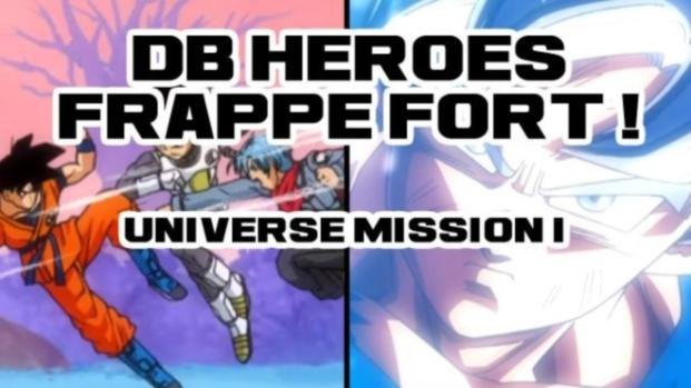 Super Dragon Ball Heroes : SSB VS SS4 & le climax du Tournoi du Pouvoir !