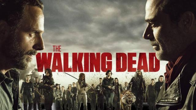 La serie: The Walking Dead desgarrando la noche