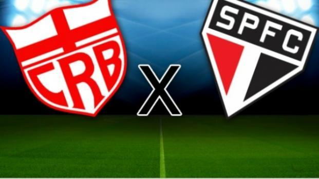 São Paulo x CRB: transmissão da partida ao vivo na TV e online