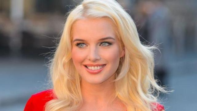 Helen Flanagan embarazada se muestra adorable con Scott Sinclair