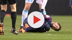La lesión de Neymar podría alejarlo del partido en contra del Real Madrid
