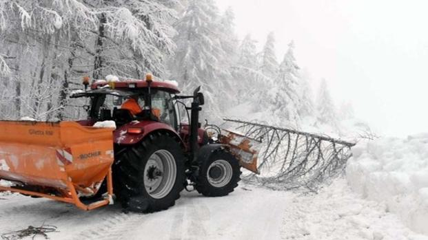 Milano: neve in città, scuole aperte e spargisale pronti all'azione