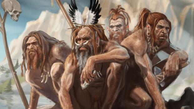 Arte Neandertal. Antiguos vestigios, antes del hombre moderno