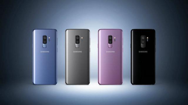 Aquí Samsung muestra el Galaxy S9