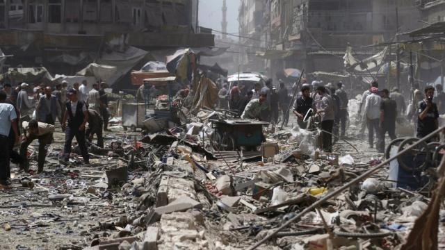 La 'masacre' en Siria se intensifica cuando la ONU pide un alto el fuego