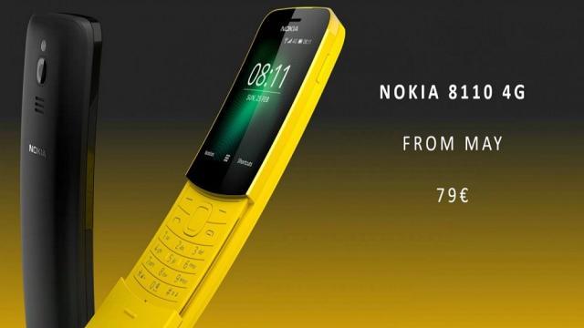 Nokia también revive 8110... En color banana