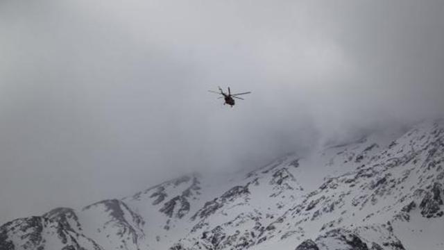 Accidente de avión en Irán: la búsqueda continúa