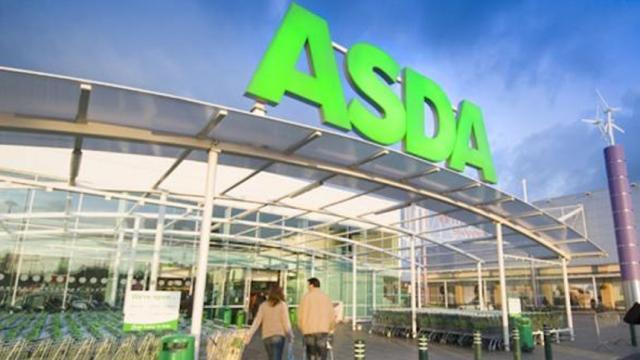 Las ventas de Asda aumentaron en navidad fuertemente