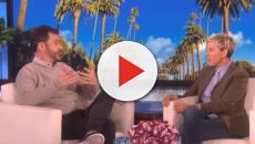 Ellen DeGeneres leave her friend Jimmy Kimmel misty-eyed with her gift