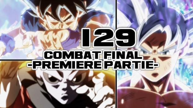 Dragon Ball Super 129 : Analyse des nouvelles images et synopsis, du grand art !
