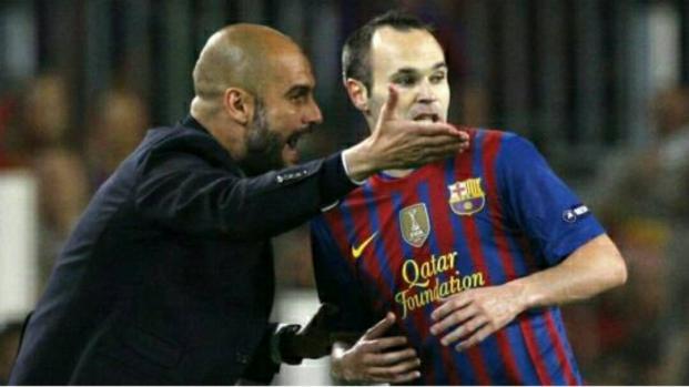 Pep Guardiola veut Iniesta à City dès cet été !