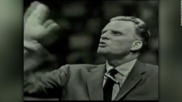Líderes politicos de los Estados Unidos rindieron homenaje a Billy Graham