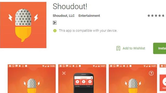 'Shoudout' the social music app that let's you support a worthy cause