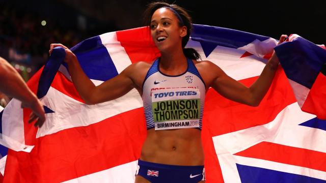 Katarina Johnson-Thompson toma el oro de pentatlón en World Indoors