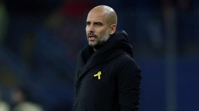 Pepe Guardiola, acusado por cinta amarilla