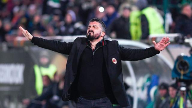 El entrenador Gattuso esperará mantener la buena racha, con su equipo