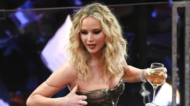 El 'fuera protocolo' de Jennifer Lawrence