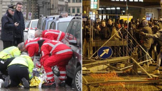 Firenze: vuole suicidarsi, si pente e ammazza un senegalese