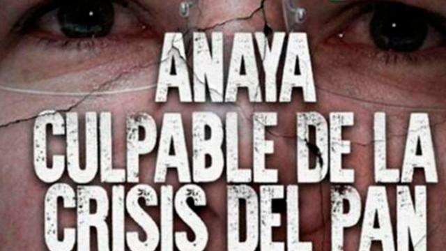 La inocultable crisis de Anaya