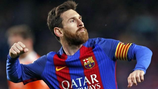 Futbol: Leo Messi puso en el calendario del Barça un objetivo del Real Madrid