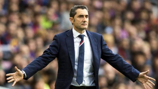Valverde critica 'pena invisible' después de que Barcelona celebró en Las Palmas