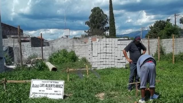 Para iniciar la construcción de una vivienda hay que replantear el terreno