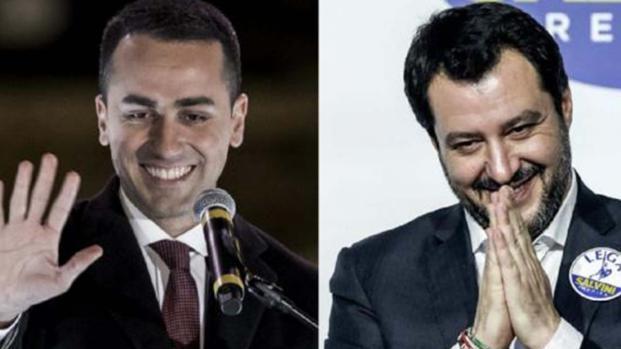 Luigi Di Maio e Matteo Salvini: prove tecniche di alleanza