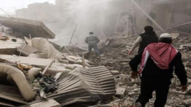 Armi chimiche usate nella Ghouta orientale in Siria