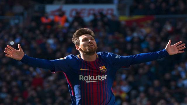 Messi marca la diferencia y en la victoria del Barcelona sobre el Atlético