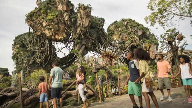 Encuentre nuevas opciones gastronómicas en Pandora: The World of Avatar