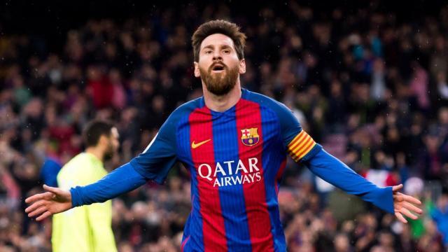 Messi anota un gran gol y le da al Barcelona le gana a los colchoneros en casa