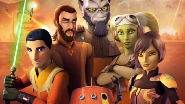 Star Wars Rebels: 'reunión familiar y despedida'