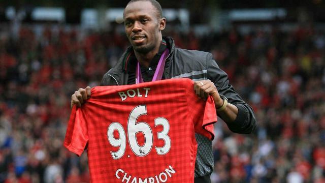 Usain Bolt debutará como futbolista en Old Trafford para la ayuda de UNICEF