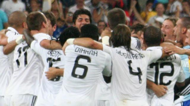 Festival de goles en el Betis-Real Madrid