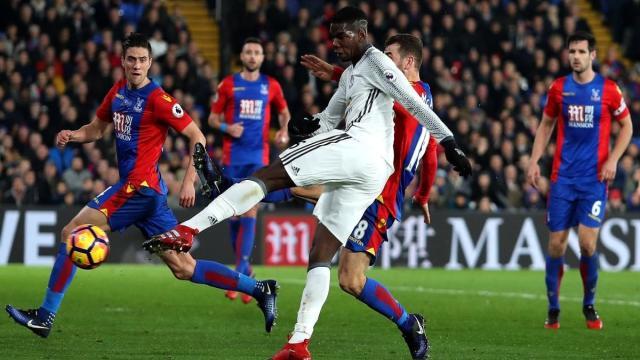 Futbol: El ManU derrota al Crystal Palace, en un gran partido