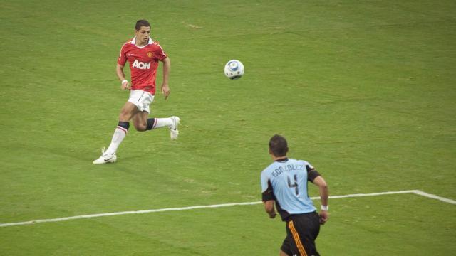 Javier 'Chicharito' Hernández estuvo a un paso de fichar por el Tottenham