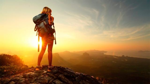 ¿Eres la primera vez que viajas sola?
