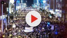 Seguimiento de la huelga feminista en la Casa Real: Letizia si, Sofía no